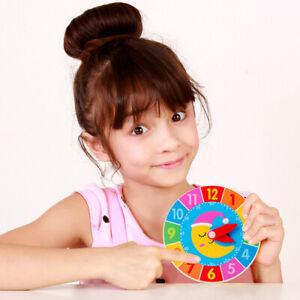 Busy Board DIY Clock Toy Baby Montessori Sensory Activity Board Accessor OH