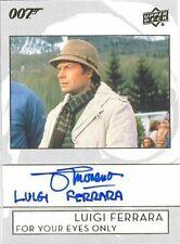 2019 James Bond Collection A-JM John Moreno as Luigi Inscription Autograph Card!