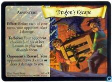 Harry Potter TCG Base Set Dragon's Escape FOIL 4/116