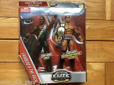Wwe ringside collectibles exclusive farooq & the rock elite figure belt new