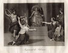 GRAVURE RELIGION / JUGEMENT DE SALOMON
