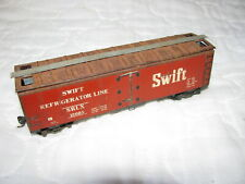 Train Freight Car Swift Refrigerator Line SLRX HO Scale Collectible Collectible