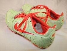 NIKE Track Spikes Shoe Women's Size 8.5 Zoom Rival S Racing SprintVolt/Crimson