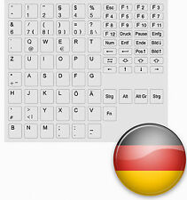TASTATURAUFKLEBER DEUTSCH ALLE TASTEN FÜR ALLE GRAU GREY KEYSTICK GERMANY GERMAN