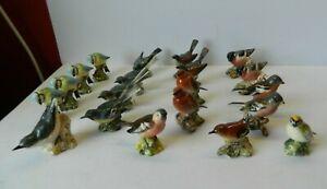 Job lot of 20 Vintage Beswick Birds