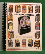 AMI Rowe JUKEBOX GUIDE 1927-1991, AMI A B C D-40 E120 F80 G120 H200 I200 Lyric