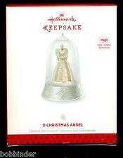 HALLMARK O CHRISTMAS ANGEL LIGHT, SOUND & MOTION CHRISTMAS ORNAMENT 2013 NIB