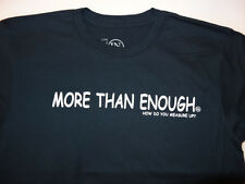 "NEW men INCHWEAR S SMALL T SHIRT MORE THAN ENOUGH 8"" INCHES NOVELTY Navy Crew i4"