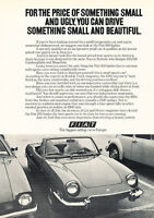 1973 Fiat 850 Spider - Price - Classic Vintage Advertisement Ad D73