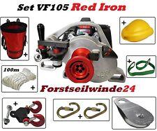 Seilwinde-Forstwinde-Spillwinde VF-105 Red Iron / Komplettset- Forstwirtschaft