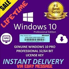 Microsoft Windows 10 Pro Professional 32*64bit LICENSE KEY🔥 ✅Instant Delivery🔥