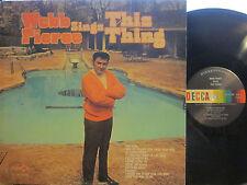 Webb Pierce - This Thing  (Decca 75132) (FC = guitar-shaped swimming pool)