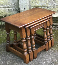 STUNNING SET OF OLD CHARMS COFFEE TABLES VERY CLEAN CONDITION WE DELIVER