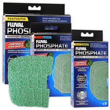 Original Fluval ClearMax Removedor de fosfato 3 X 100g Medios de Filtro