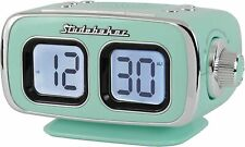 Large Display Lcd Am/Fm Retro Clock Radio Usb Bluetooth Aux-In Bedroom Kitchen C