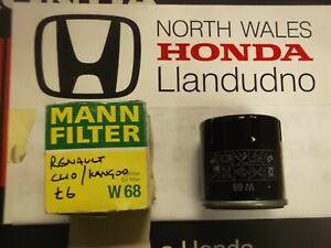 MANN W68 Oil Filter