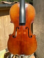Old French Violin Francois DUROSAY 1891 label