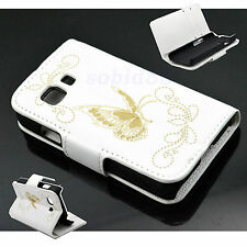 Leather Fold Stand Wallet Pouch Case Cover Skin For Samsung Galaxy Young 2 G130