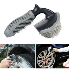 Car Wheel Tire Rim Scrub Brush Washing Cleaning Tool F/ Auto Vehicle Motorcycle