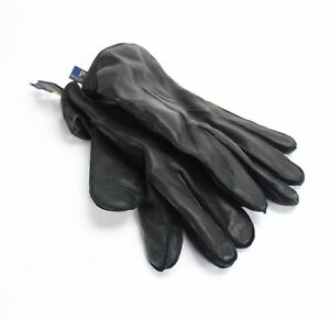 Polo Ralph Lauren Men's Winter Gloves Black Size XL Nappa Touch Leather $68 369