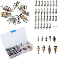 134 pcs AC A/C Valve Core Valves for R134A Air Conditioning valves Assortment