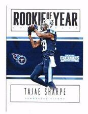 Tajae Sharpe 2016 Panini Contenders, Rookie of the Year Contenders, #21