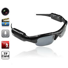 HD GLASSES SPY HIDDEN CAMERA SUNGLASSES EYEWEAR DVR VIDEO RECORDER CAM SMART