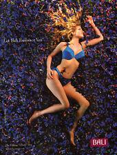 modern glamor magazine lingerie AD, BALI Fitting Tribute Bra brassier 071114
