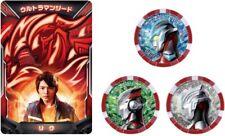 NEW Bandai Ultraman Z DX Ultra Access Card & Ultra Medal Ultraman Geed Set Japan