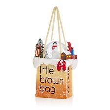 Bloomingdales Bag Christmas Bauble Ornament New York - SNOWMAN