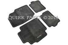 2002-2004 Nissan Sentra NISMO | Charcoal Floor Mats Set of 4 OEM NEW Genuine