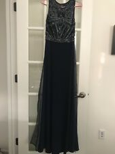 Sherri Hill Navy Size 4 Prom Dress Pre-owned