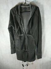 Alexandre Plokhov Zip Off X Long Smoke Dyed Hoodie Sold Out $885