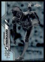 2020 Topps Chrome Base Negative Refractor #58 Noah Syndergaard - New York Mets