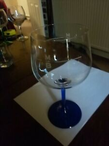 Mary Le Bone Gin and Tonic Blue stem Balloon Glass - Classy serve for your G&T!