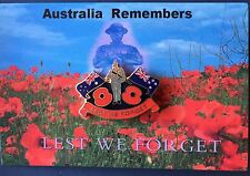 ANZAC Poppy Flags Remembrance Day Lapel Pin Badge
