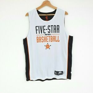 Men's Vintage And1 Five Star Reversible Basketball Training Jersey - Size L