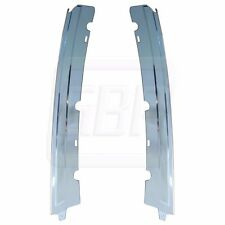"81-88 Monte Carlo GP COUPE Chrome Anodized ""B"" Lock Pillar Drip Molding Trim SET"
