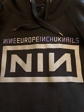 NINE INCH NAILS EXTREMELY RARE CREW STAFF TOUR JACKET HOODIE #1