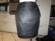 MEXX Metropolitan Mini  Rock ganz gefüttert  36 schwarz  high waist