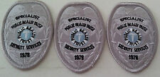 NEW-SILVER-SPECIALIST-PUBLIC HEALTH TRUST-SECURITY SERVICES 1978- CLOTH PATCH-