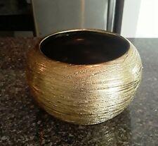 Gold decorative bowl