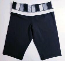 Lululemon Women's Black Stretch Athletic Yoga Shorts! Size 4