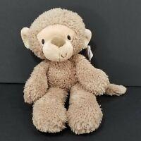 Gund Light Brown Tan Fuzzy Monkey 320599 Soft Plush Stuffed Animal Toy Lovey