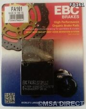 Kawasaki ZXR750 (1989 to 1995) EBC Kevlar REAR Brake Pads (FA161) (1 Set)