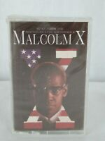 Malcolm X Music From The Motion Picture Soundtrack Cassette Factory Sealed
