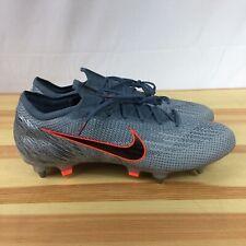 Nike Vapor 12 Elite SG-PRO ACC FlyKnit Soccer Cleats Grey AQ0595-409 Sz 13