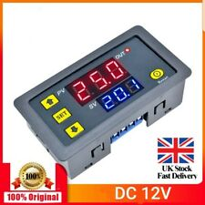 12V Digital LED Dual Display Cycle Timing Delay Timer Relay Module 0-999 Hours K