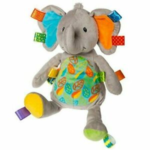Taggies LITTLE LEAF ELEPHANT SOFT TOY Baby Comforter Soft Toys Activities BNIP