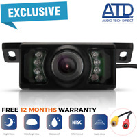 Car Reverse Camera Universal Fit Reversing Cam LED +12v Wide Angle Rear HD View